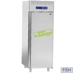 Koelkast voor vis 700 liter, 1 deur, GN 1/1 (10 bakken), 750x820xh2025