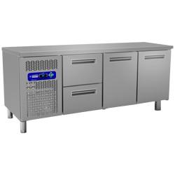 Geheel koeltafel, 2000x600xh880/900