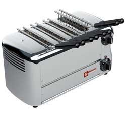 """Elektrische toaster, 4 tangen """"Silver"""", 370x220xh210"""