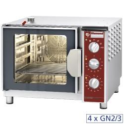 Elektrische stoom/convectieoven, 4x GN 2/3, 600x666xh480