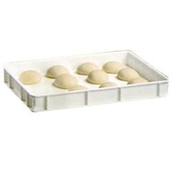 Polyethylene bak voor voedingswaren, 600x400xh70
