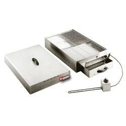 Elektrische rookkamer voor voeding, 1 verdieping (400x600 mm), 715x415xh230