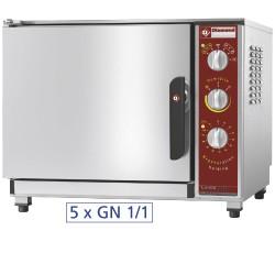 Elektrische oven, opwarmen en warmhouden, 5x GN 1/1 + bevochtiger, 710x770xh600