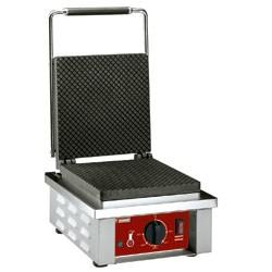 Elektrisch wafelijzer voor gewafelde bladen voor ijshoomtjes, 305x40xh230