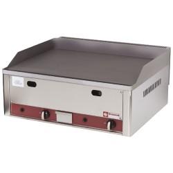 Vlakke braadplaat op gas -Top-, 660x530xh290