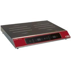 Inductieplaat 2 kookzones (2x 1750 W), tactiele toetsen, 530x450xh75