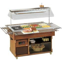 Bain-marie buffet capaciteit 4 GN 1/1, 1917x1245xh1508