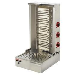 Elektrische gyros grill 55 kg, 580x660x1045