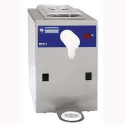 Slagroomtoestel in R.V.S., kuip 2 liter (100 l./u), 250x410xh460
