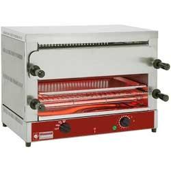 """Elektrische toaster-salamander GN 1/1, 2 verdiepingen (520x320), met """"Quartz"""", 640x380xh475"""