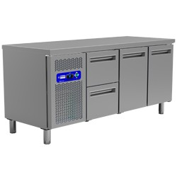 Geheel koeltafel, 1800x700xh880/900
