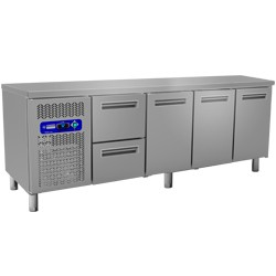 Geheel koelafel, 2250x700xh880/900