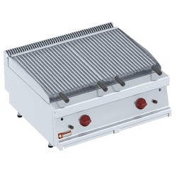"Lavasteengrill - 1/1 module - bakrooster in ""Z"",  800x700xh330"