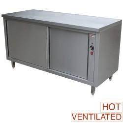 Verwarmde werktafelkasten, 1400x700xh880/900