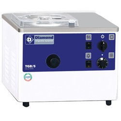 Vertikale ijsturbine, tafelmodel, 5 liter/u, watercondensator,  410x460xh320
