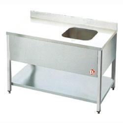 Cheftafel, mm (BxDxH) : 1800x700xh880/900