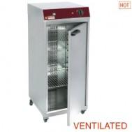 Geventileerde opwarm - of warmhoud kast , 1 draaideur, 425x460xh925
