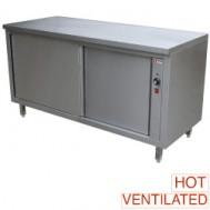 Verwarmde werktafelkasten, 1600x700xh880/900