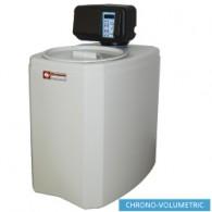 Waterontharder Chrono - en volumemeter, 8L, monoblok, 330x470xh590