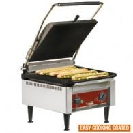 """Contact-grill """"HOOG RENDEMENT"""", geëmailleerde platen, 410x620xh340"""