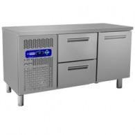 Geheel koeltafel, 1500x600xh880/900