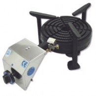 Tafelmodel gasbrander paelle, diam. 250 (10 kW), 623x355xh230