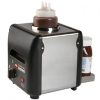 Chocolade verwarmer, chocopasta of vloeibaar, honing, sauzen, kaas (1 Lit),  225x175xh220