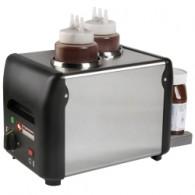 Chocolade verwarmer, chocopasta of vloeibaar, honing, sauzen, kaas (2x 1 Lit), 310x210xh230