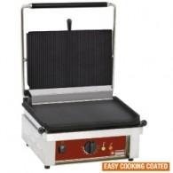 Contact grill MEDIUM, geëmailleerde platen, 430x385xh220