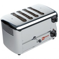 """Elektrische broodrooster, 4 sneden """"Silver"""", 360x220xh210"""