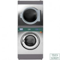 Wasmachine met super centrifuge 18 kg (El) + rotatieve droogkast 18 kg (El), 880x1077xh2141