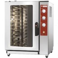 Elektrische oven stoom-convectie, 10x GN 1/1 (530x325 mm), 710x770xh940