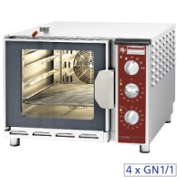 Elektrische oven stoom-convectie, 4x GN 1/1, 600x884xh480
