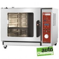 Programmeerbare oven elektrische stoom/convectieoven, 5x GN 1/1, 710x770xh600