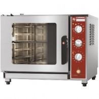 Elektrische oven stoom-convectie, 5x GN 2/3 (353x325 mm), 710x590xh600