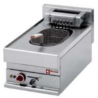 Elektrische friteuse 1 kuip van 10 liter -Top-, 400x650xh280/380