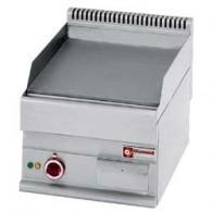 Elektrische braadplaat met vlakke plaat -Top-, 400x650xh280/380