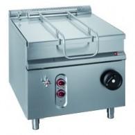 Elektrische kantelbare braadpan, kuip 75 liter, 900x900xh850/920