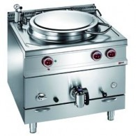 Elektrische kookketel indirekte verwarming, 100 liter, 900x900xh850/920