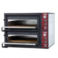Elektrische oven 2x 6 pizza's, 2 kamers, 980x1210xh750