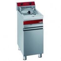 Elektrische friteuse 1 kuip 14 liter op gesloten kast, 375x655x845/985