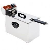 Elektrische friteuse tafelmodel 4 liter, 210x410xh290