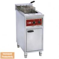 Electrische friteuse 16 lit. op kast 4-8-12 Kw, 400x660xh980