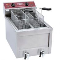 Electrische friteuse 2 x 8 Lit. - TOP, 400x610xh445