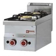 Gasfornuis 2 branders -Top-, 300x600xh280/400