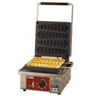 "Elektrisch wafelijzer ""wafels op stokjes"", 4 stuks. + Timer, 305x440xh230"