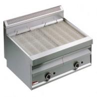 """Gasstoom-grill met bakrooster in """"O""""-vorm -Top-, 800x700xh440/610"""