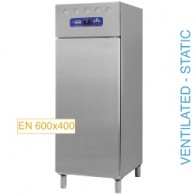 Koelkast EN 600x400, geventileerd (of) statisch, 1deur (700Lit.), 760x729xh2005