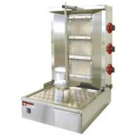 Gyros grill gas 35 kg, 580x660x870