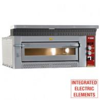 Elektrische pizzaoven, 4 pizzas Ø 350 mm, 1070x1010xh400